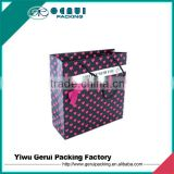 factory direct custom good quantity art paper gift shopping bag