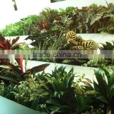 Home and outdoor decoration synthetic cheap artificial vertical green grass wall E08 04R11