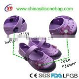 New design EVA shoes with cute flower for Girls/EVA sandals