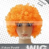 MPW-0639 festival fun orange wig for Carnival, orange afro wig