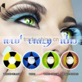 crazy cosmetic contact lens/soft yearly halloween contact lenses