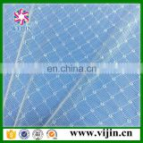 warp knitting elastic lace fabric mesh with factory whosale price