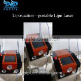 Telangiectasis Treatment 1064nm Portable ND YAG Laser Lipolysis Slimming Machine Popipl Naevus Of Ito Removal
