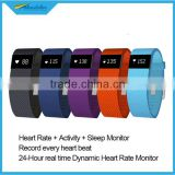 Heart Rate bracelet!! Pedometer, Sleep monitor shenzhen factory price tw64s smart bracelet band