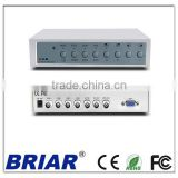 BRIAR 4channel Color quad processor 4ch digital BNC signal quad processor 4channel Quad multiplexer