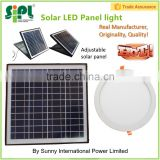 Solar LED panel light free energy power