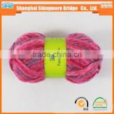 Knitting yarns supplier china best selling oeko tex certified melange acrylic yarn with acrylic yarn prices