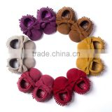 The same paragraph seven! Matte teture soft bottom bow hand fringed toddler shoes 6733 baby shoes