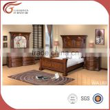 Classic Wooden Simple <b>Bedroom</b> <b>Set</b>/American <b>Queen</b> Size Bed/Antique Solid Wood <b>Bedroom</b> Furniture WA180