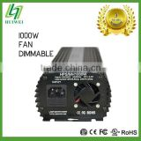 HID Ballast Light Ballast 1000W HPS MH electronic Ballast Dimmable With Cooling Fan Original Manufacturer