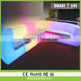 Color Change Outdoor Furniture/led Sofa/led Chair with remote