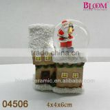 Christmas resin water globes wholesale