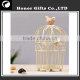 Most Popular Wholesale Home Decoration Bird Cage Candle Holder