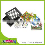 funny games 18 in 1 kid educational games magnetic folding chess board