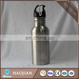 650ml stainless steel sport waterbottles ,silver color