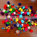 Indian Kucchi Belly Key Chain_Vintage Banjara Key Chains_Lot's Of 50Pcs