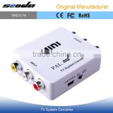 AV Pal to NTSC <b>Video</b> <b>Converter</b> NTSC to Pal <b>Video</b> <b>Converter</b> MINI TV <b>System</b> <b>Converter</b>