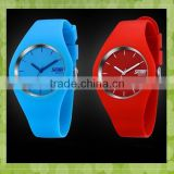 30 meter waterproof rubber silicone wristband watch