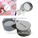30x 21mm jeweler loupe magnifier magnifying glass