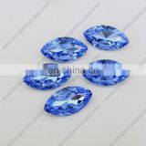 Fashion design decorative navette crystal stone for garment