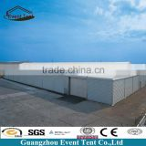 guangzhou factory Insulated warehouse tent building, outdoor storage shed with sandwich panel