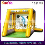 inflatable football shoot out,kids and adults inflatable football,funny game inflatables
