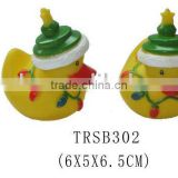 Chirstmas bath floating PVC duck/ bath toy