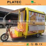 With 3 Wheels Electric Tricycle Mini Truck Food