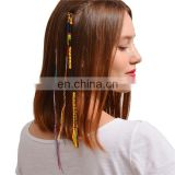 Bohemian Vintage Ethnic Handmade Cotton Thread Braided Rope Tassel Hair Headband Accessory