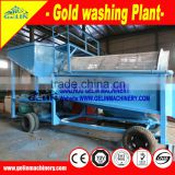 Big Capacity Gold Washing Trommel Machine for placer gold recovery equipment