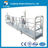 Steel temporary suspended scaffolding ZLP800 for building cleaning