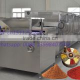 Conveyor belt microwave spice dryer/sterilizer-SS 304