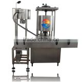 Full-automatic Rotary Srew Cap Seal Machine For Plastic Thread Cap