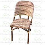 Outdoor Commercial Restaurant Chairs Faux Bamboo Chairs
