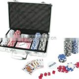 PLY30822 200pc x 11.5g poker chips set