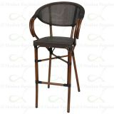 Commercial Bar Furniture Outdoor Bar Chairs Texitlene Mesh Bar Stools