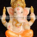 Guo hao hot sale custom polyresin hindu goddess statue , 3d hindu god idols