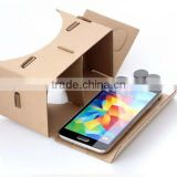 "2016 New Google cardboard version 2.0 Google Cardboard 2 virtual reality vr google cardboard 3D glasses for 3.5-6"" phone"