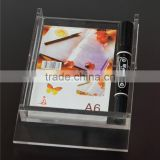 Custom Cheap acrylic notepad holder wholesale