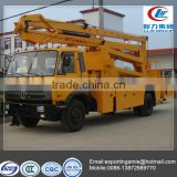 China left hand drive 22m dongfeng aerial working truck with low price