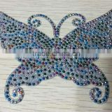 Butterfly <b>heat</b> <b>transfer</b> decals with <b>rhinestud</b>s
