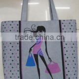 Fashion Lady cotton cheap canvas popular bag