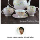 Queen Anne Tea Set Bone China Factory Supply Contact Now