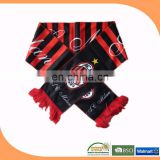 made in china football fan scarf football scarf football team scarf