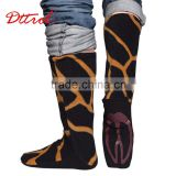Fashion Adult leopard print dancing wholesale western boots of the women shoes (D006065)