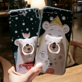 New design cartoon back cover  Silicone mobile Phone Cases for iPhone7/7Plus/6/6s/6plus/6splus cell phone case shell