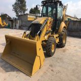 Used caterpillar backhoe wheel loader