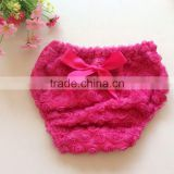 Girls' Rose Cotton Basic Diaper Covers Made in China