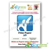 3D Film Paper (10 sheets/pkt)