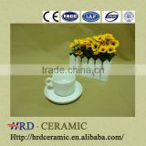 2014 fashion wholesale dinner ware Ceramic cups with saucer